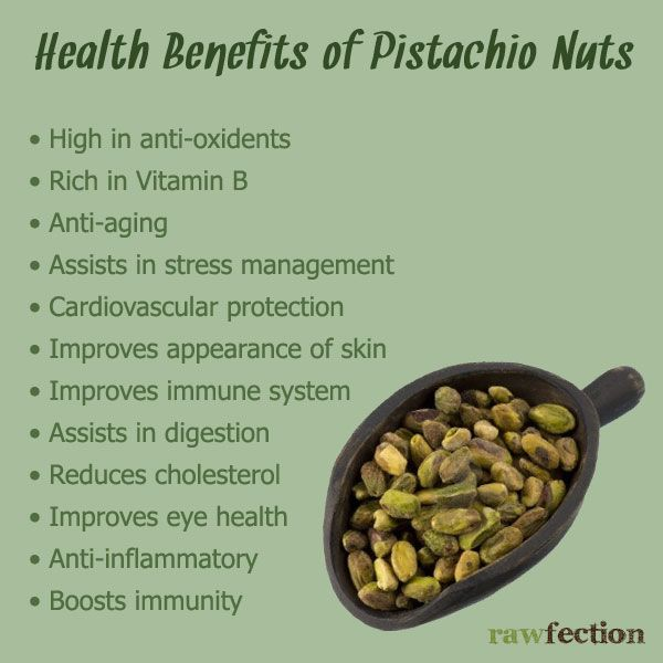 are pistachios good for a diet
