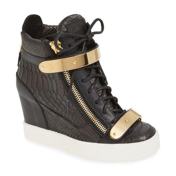 sneaker wedge shoes