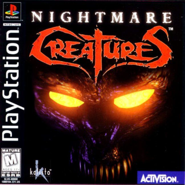 Comprar Jogos Ps 2 Xbox 360 Dvd Xbox360 Playstation 2 Ps2: Jogo NIGHTMARE CREATURES Para PlayStation PSX PS1 PSONE