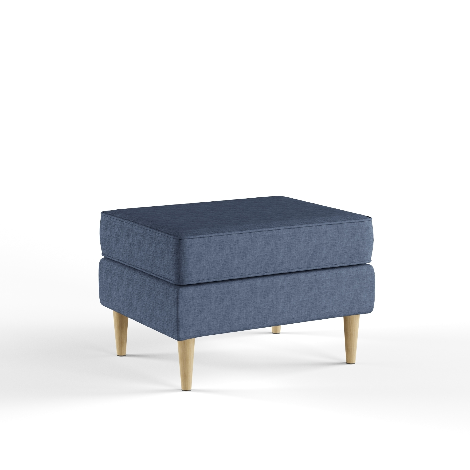 Excellent Carson Carrington Larvik Mid Century Modern Fabric Ottoman Unemploymentrelief Wooden Chair Designs For Living Room Unemploymentrelieforg