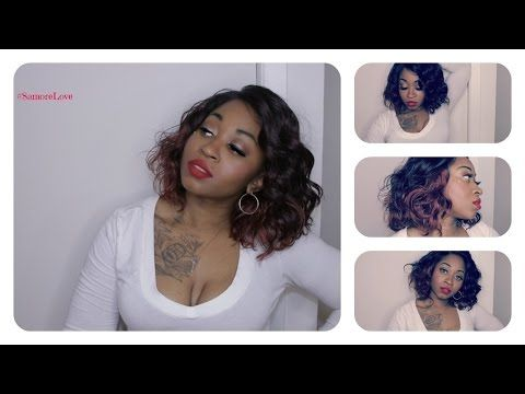 Summer Red Wig ft CandyPoo1100 | Model Model Lace Deep Izzy - YouTube