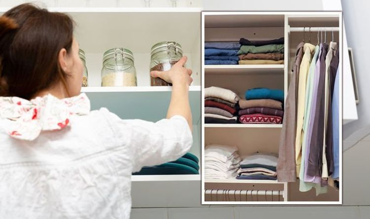 How to organise your home- 10 tips for decluttering your kitchen, bedroom, wardrobe & more