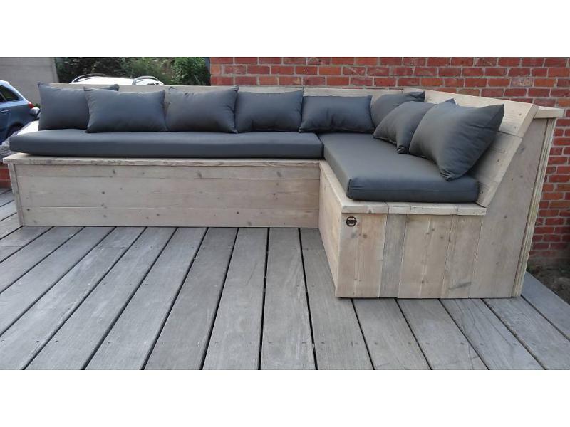 Harstad Garten Bauholz Eckbank Mit Kissen Eckbank Garten Eckbank Mit Tisch Holzdesign