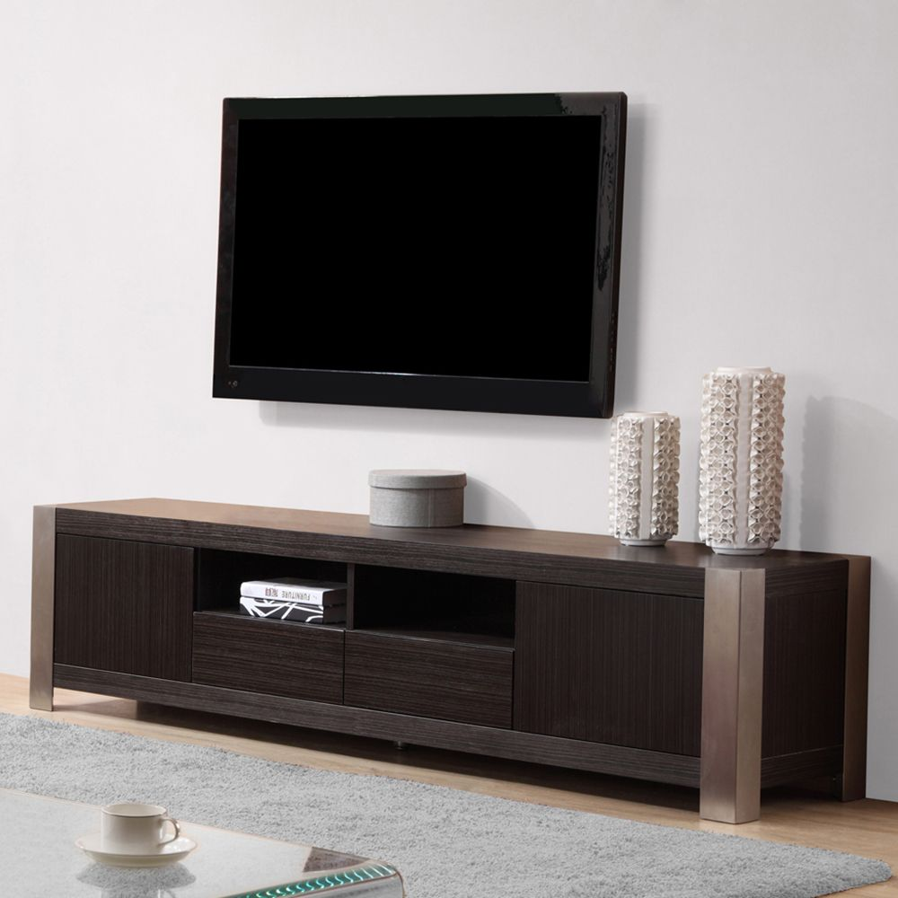 B Modern Composer Tv Stand Grey And Ebony Tv Stands By B Modern