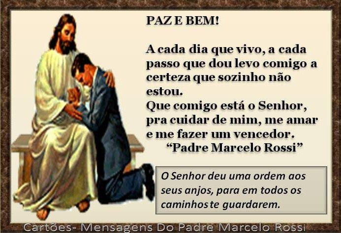 mensagem do padre Marcelo