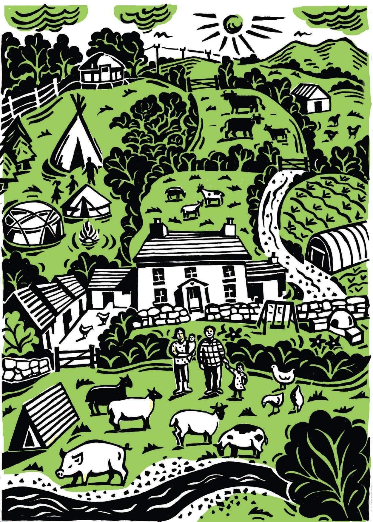 Pin by Liz Arnold on Glamping Permaculture, City photo