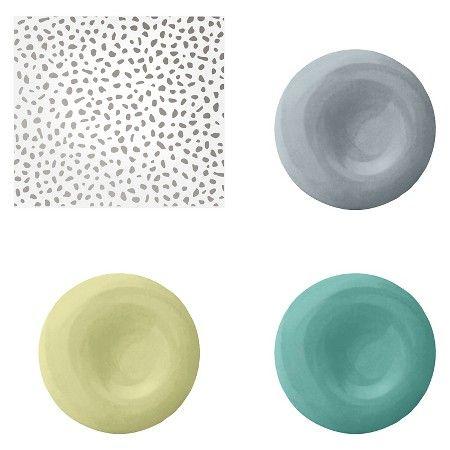 Devine Color Speckled Dot Peel & Stick Wallpaper Sterling