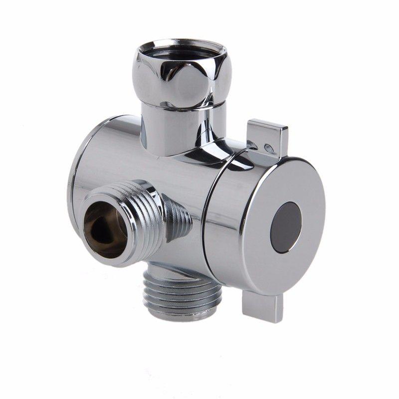 1 2 Inch 3 Way T Adapter Valve For Toilet Bidet Shower Head