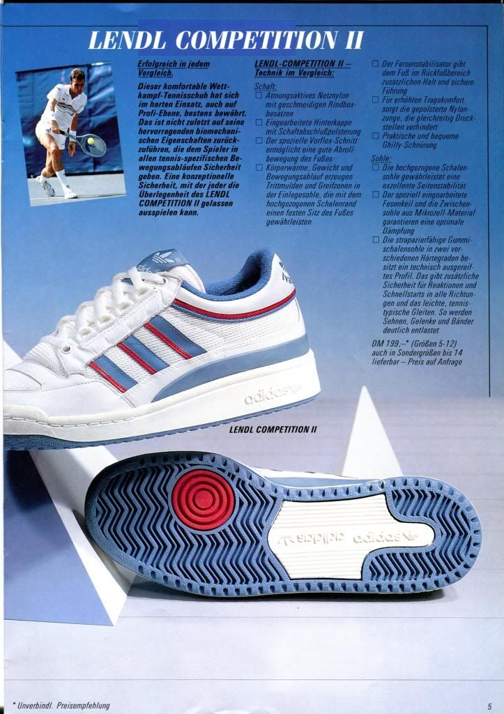 adidas lendl chaussures