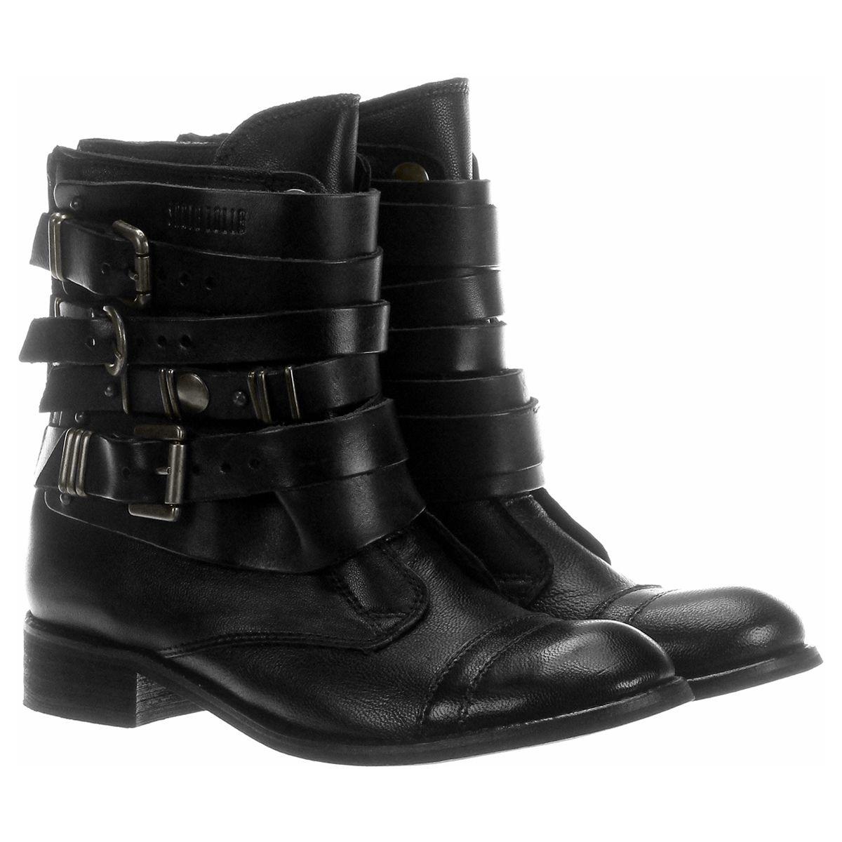 68cbd8c18 Bota Santa Lolla Fivelas Preto | Zattini | Shoes | Botas, Sapatos ...