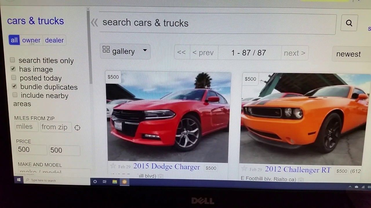 Insurance auto auctions or craigslist which is better for