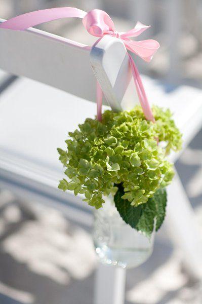 ceremony aisle flower