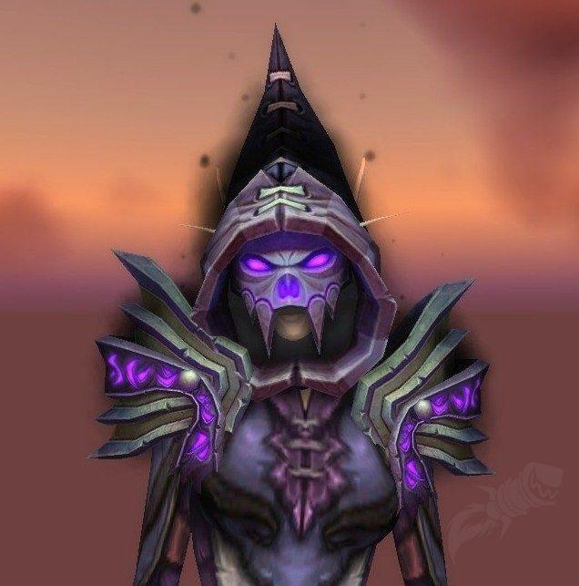 Cowl of Malefic Repose Lich king, Undead art, Lich