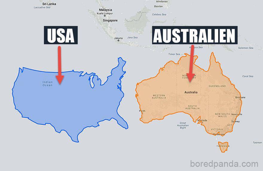 Lugen Atlas Die Weltkarte Sieht Ganz Anders Aus Als Du Bisher