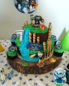Remarkable Design Skylander Birthday Cake Wonderful Inspiration