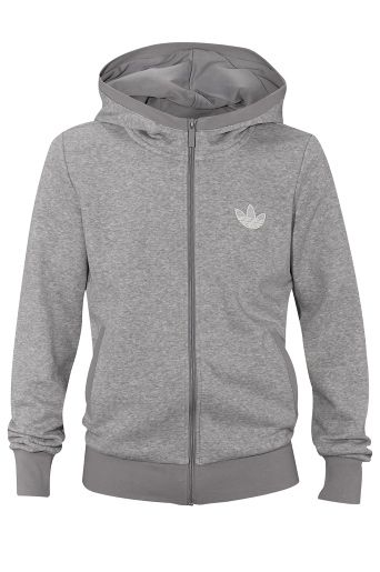 Adidas Originals Adidas Originals Super Six Basic Fleece Zip Hoodie ... 7794896abc