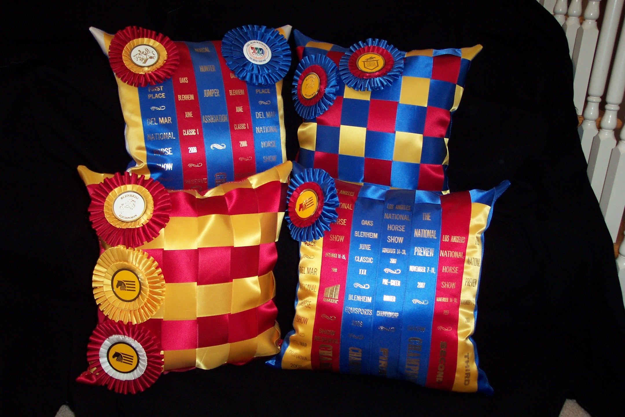 Keepsake ribbon quilts ribbon pillows i have found more meaning