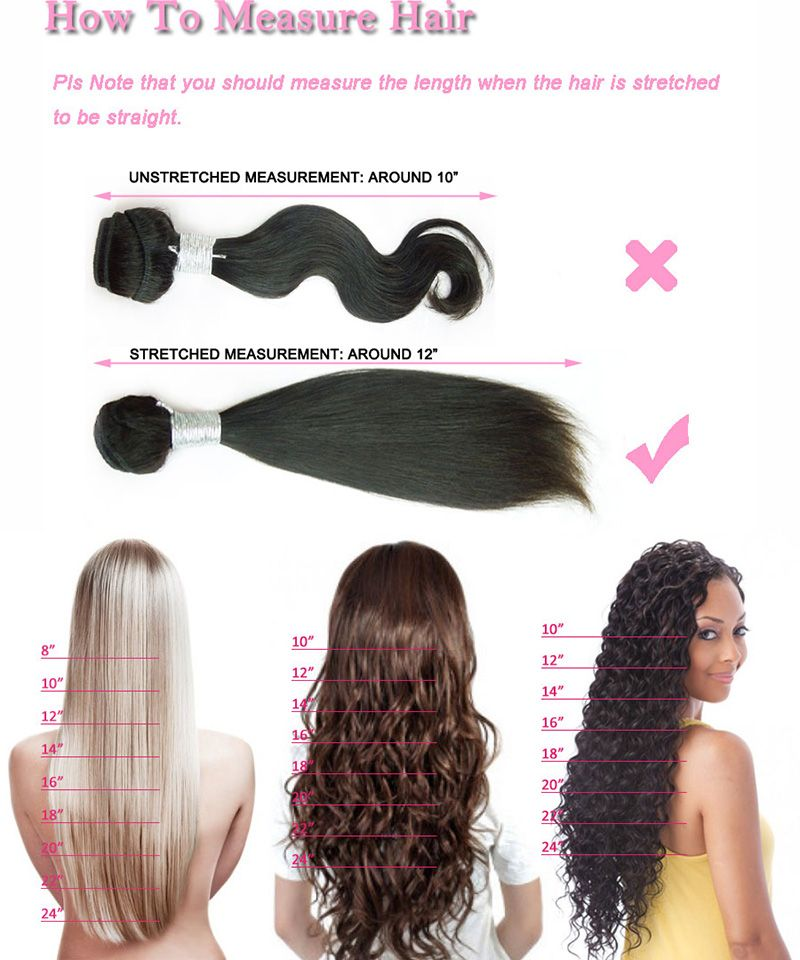 Hair extension length chart weave remy wigs also nuhare measurement natural in pinterest rh