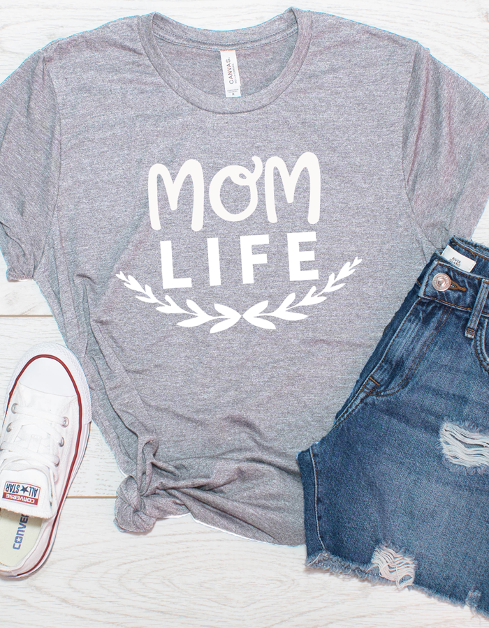 Mom life t shirt, mom t shirt, graphic tee, t shirt with