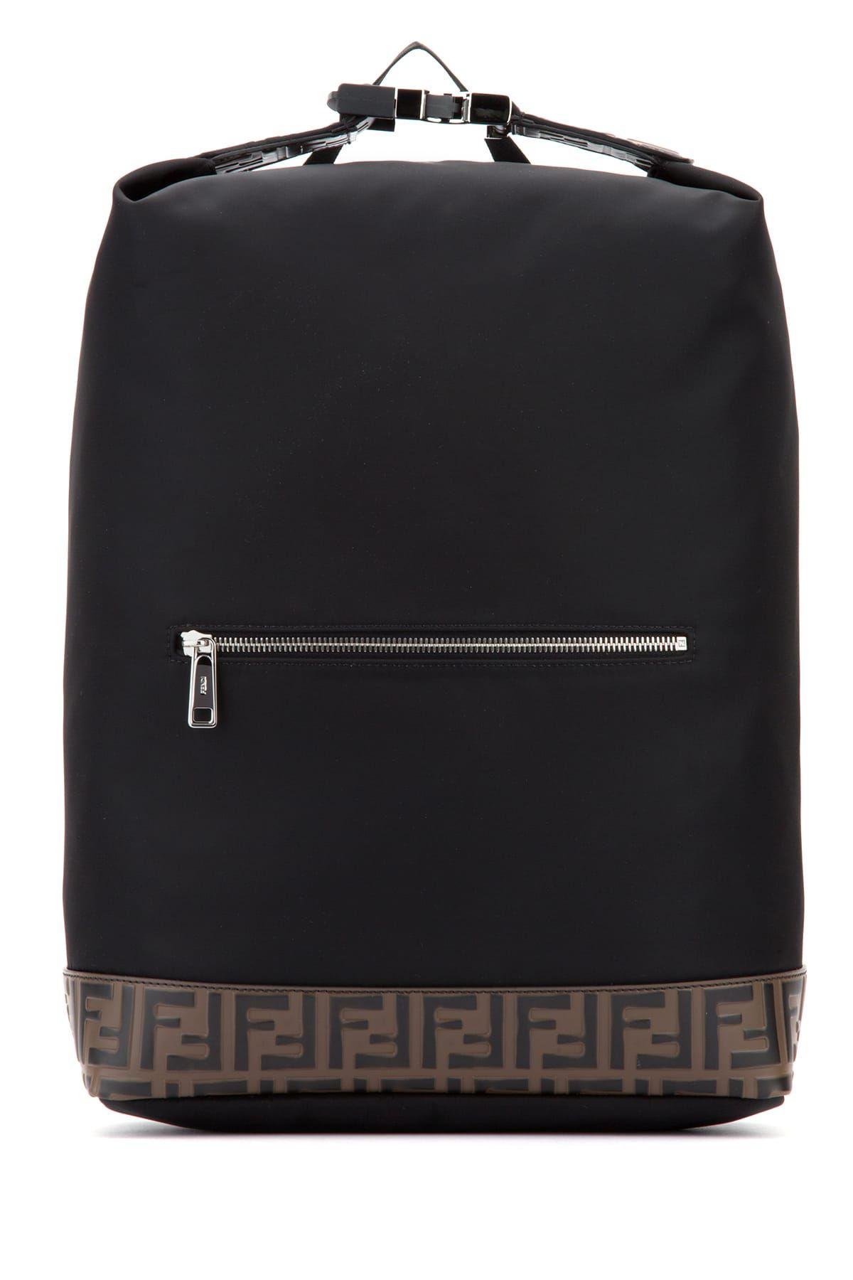 6875b987994e FENDI FF细节背包.  fendi  bags  leather  nylon  backpacks