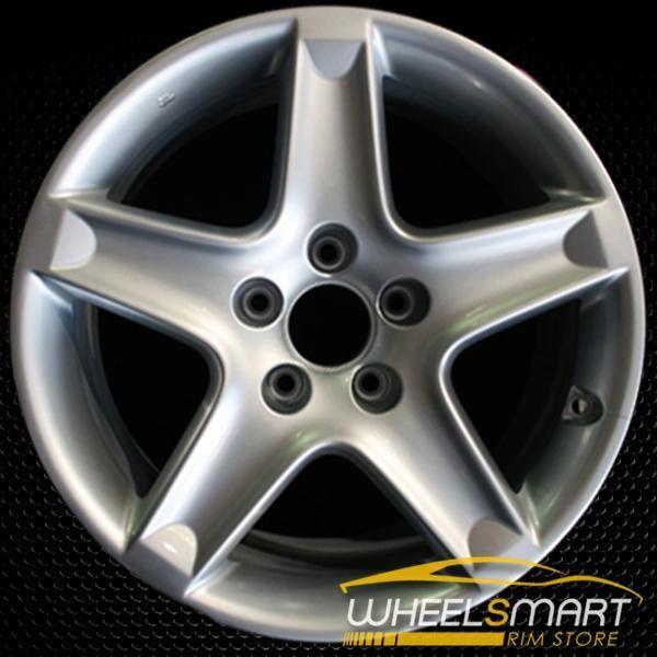 "17"" Acura TL OEM Wheel 2004-2006 Silver Alloy Stock Rim"