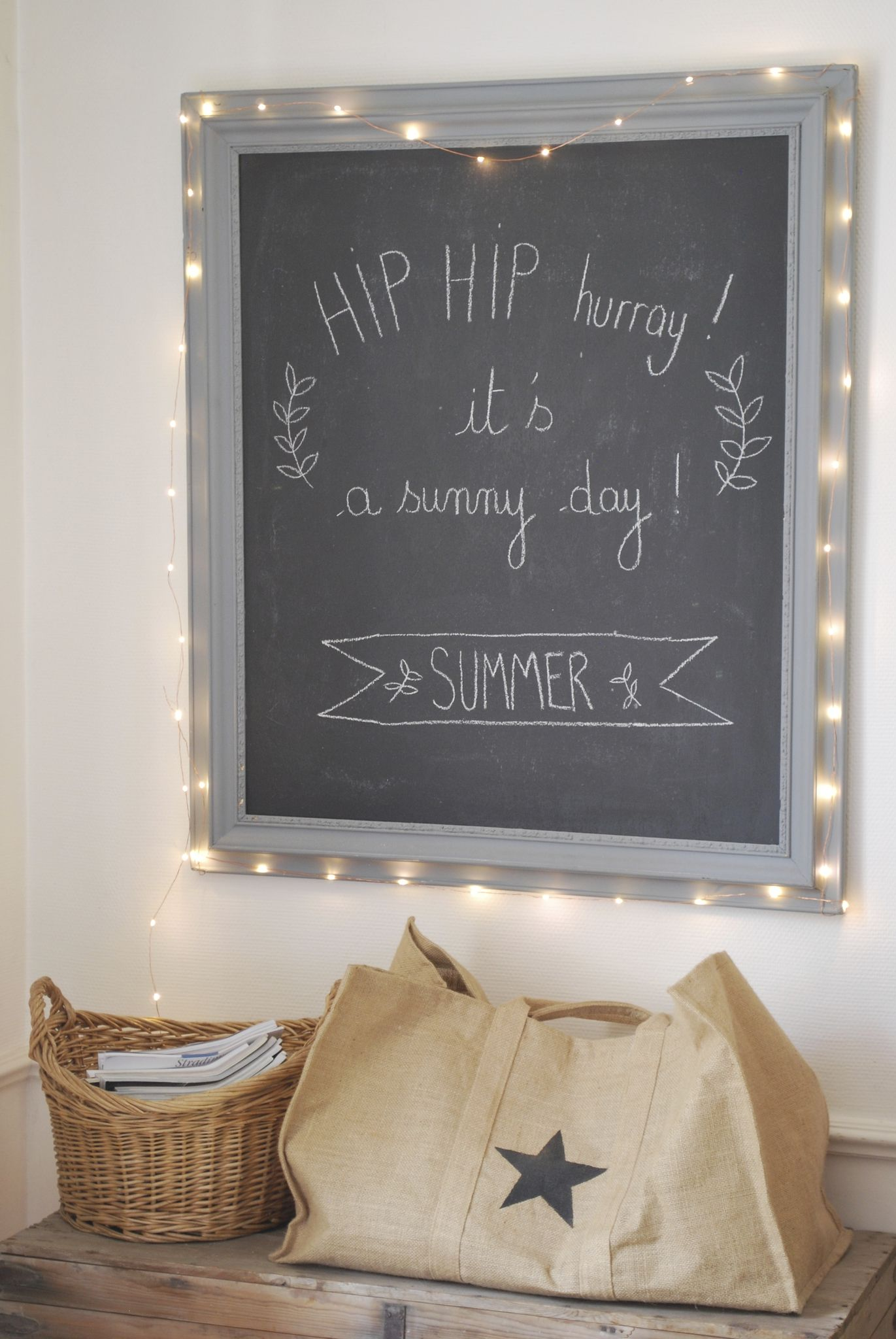 cadre ardoise decor pinterest summer chalkboards