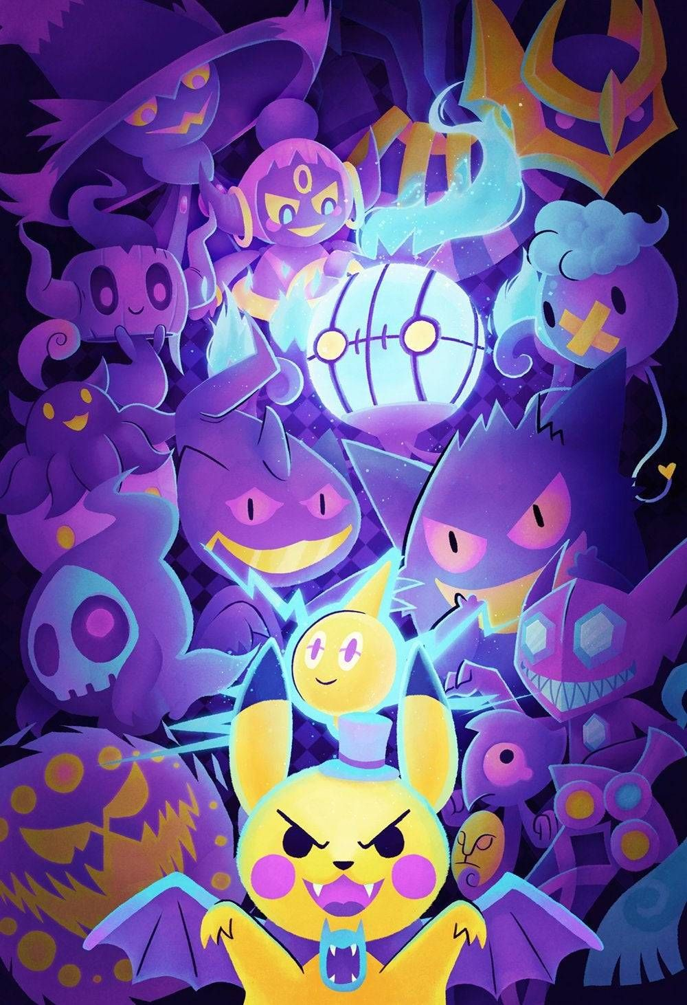 Ghost Pokemon Poster made by StarSalts -