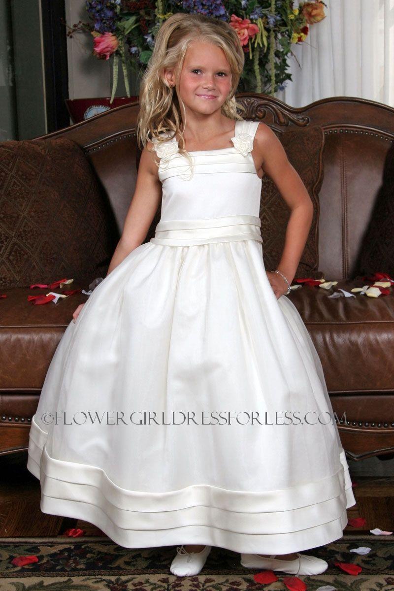 Us angel flower girl dress style 243