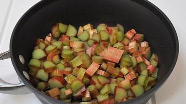 Rabarbermoes met stevia