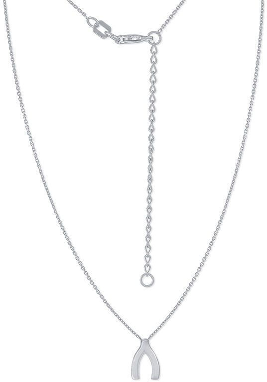 Wishbone necklace in 14k white gold pinterest wishbone necklace zales wishbone necklace in 14k white gold aloadofball Image collections