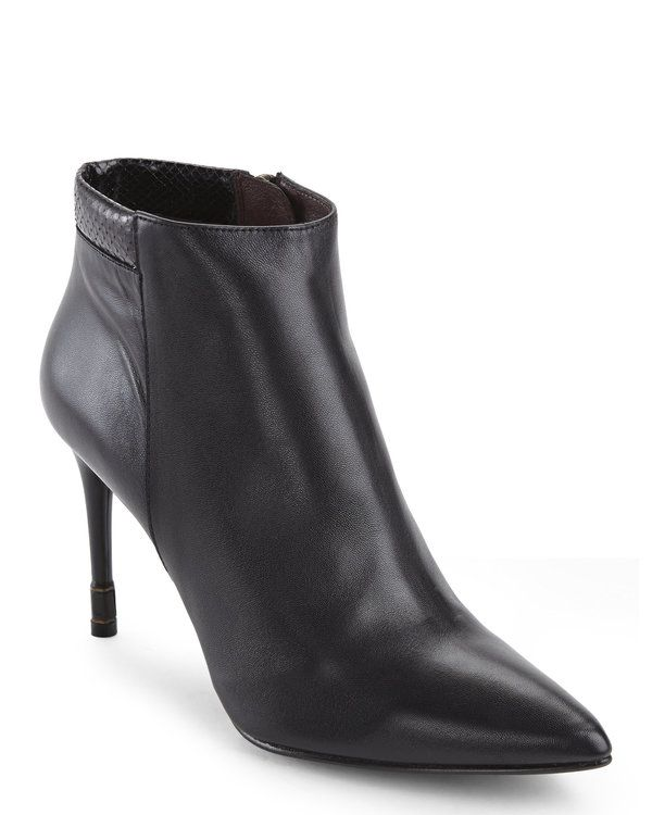 """Check out """"Black Zinc Ankle Booties"""" from Century 21"""