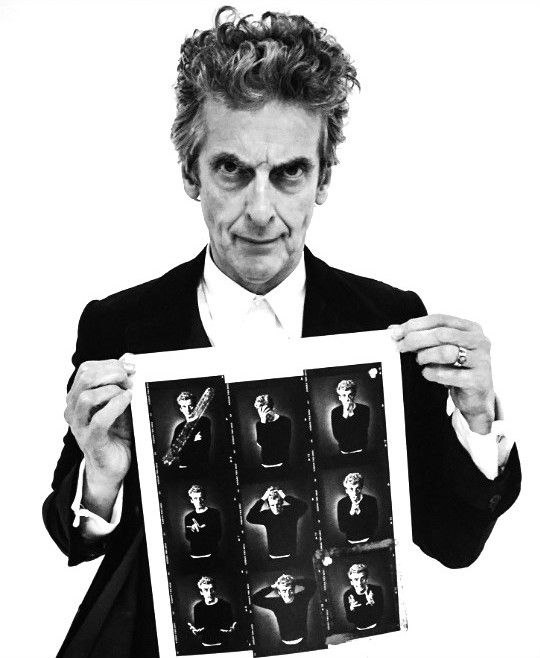 Peter Capaldi photographed by Andy Gotts! | [x]
