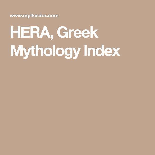Hera Greek Mythology Index 20 Renewed Virginity 20 Yod Hand