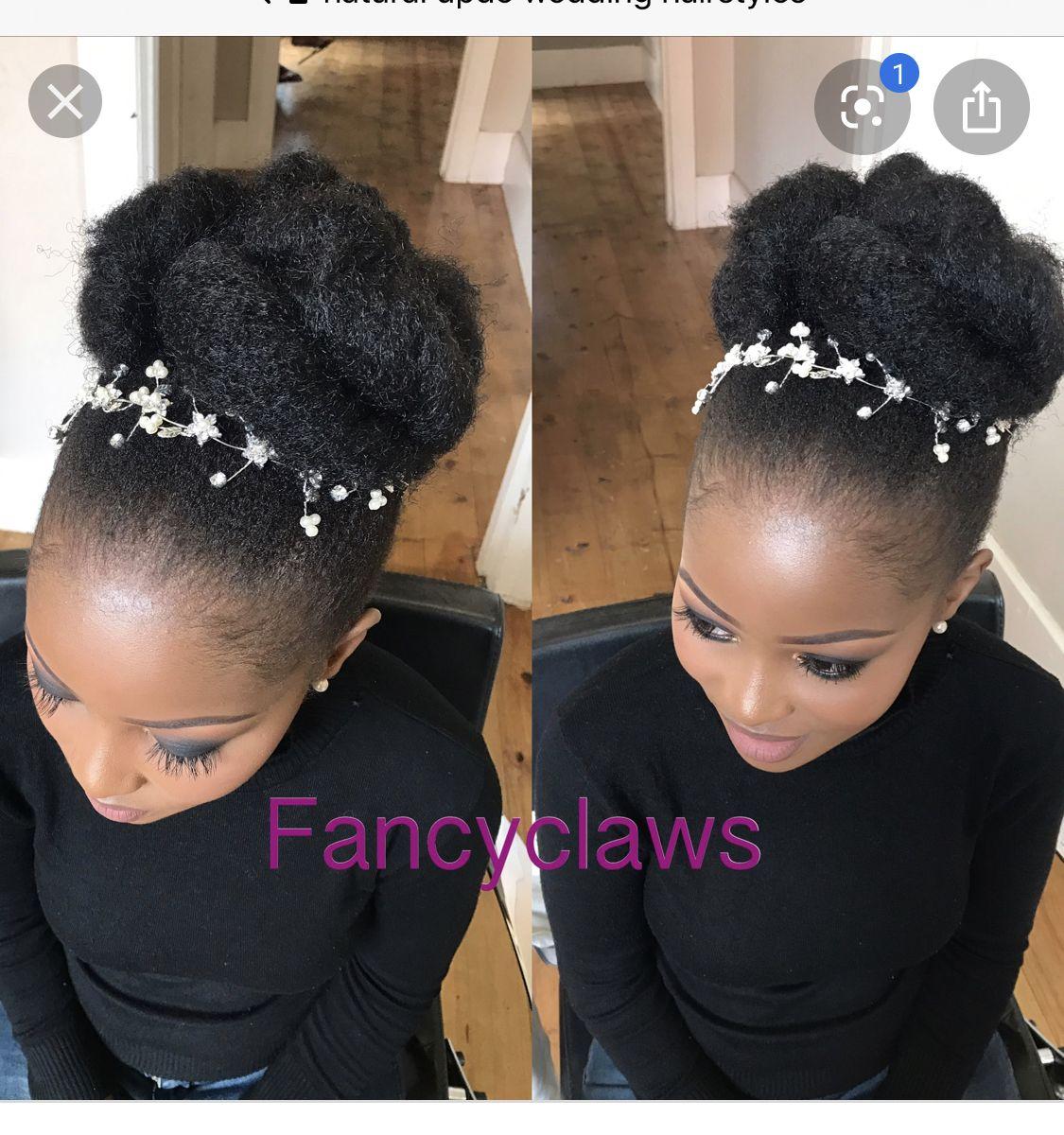 Pin By Nanyunjasusanbenita On Wedding Afro Wedding Hairstyles Natural Hair Updo Wedding Natural Hair Wedding