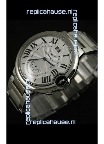 Cartier Ballon Blue de Japanese Replica Watch in White