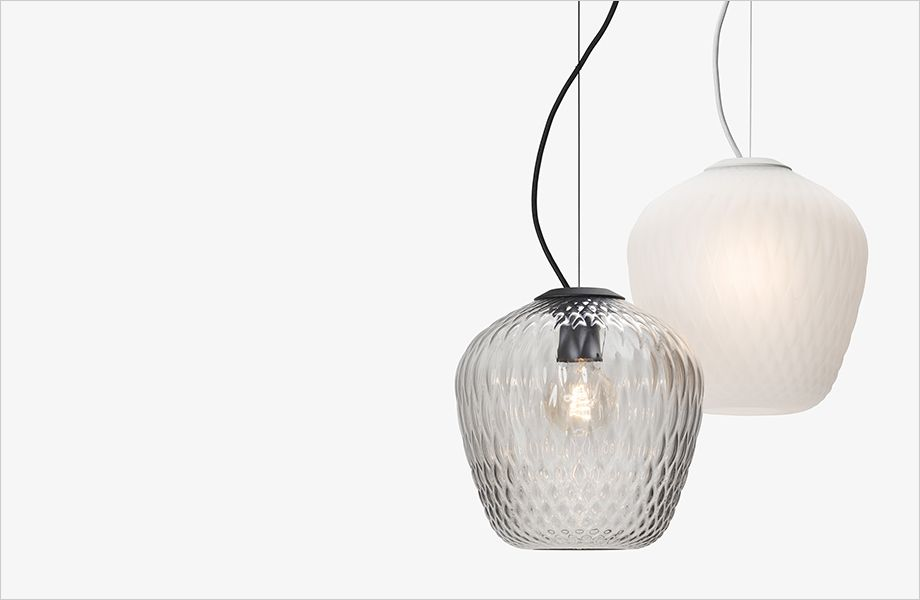 Blown Glass Pendant From Tradition Glas Pendel Ceiling Lamp Lofts Lampe Lampe Lamper Cafe