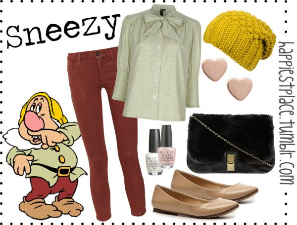"""""""Sneezy"""" by disneyinspired ❤ liked on Polyvore"""