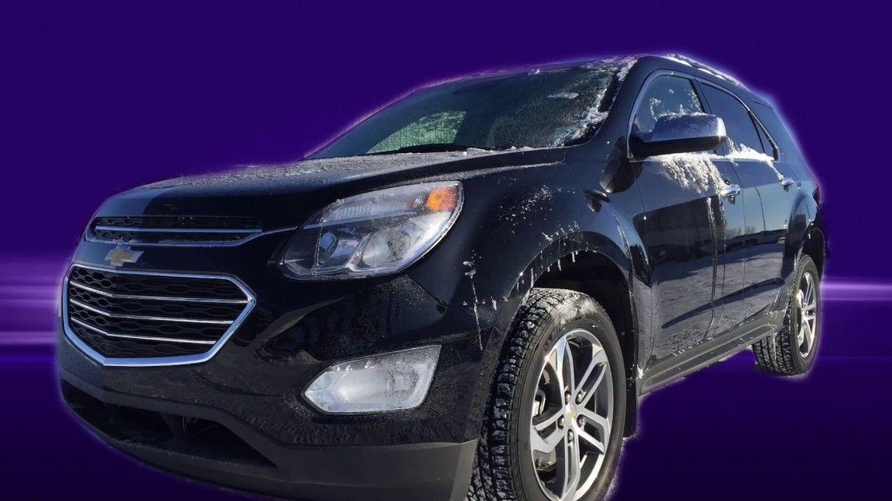 2017 Chevrolet Equinox Premier Ltz New Black Awd 17n050