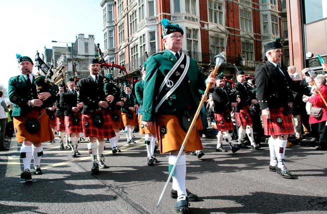 St. Patrick's Day Celebrations IN LONDON