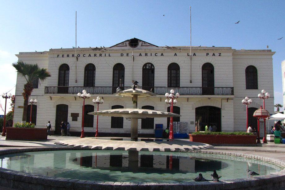 Estacion Ferrocarril Arica, Chile