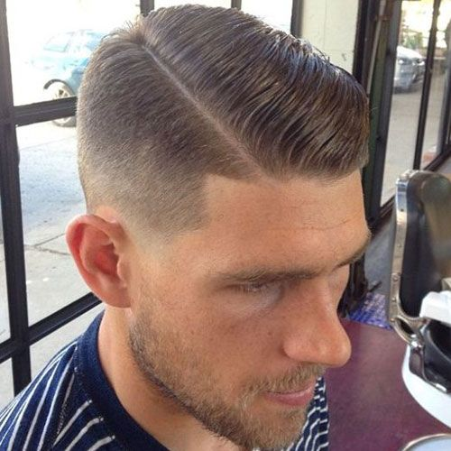 Men's Side Part Hairstyles and Parted Haircuts | Taper ...