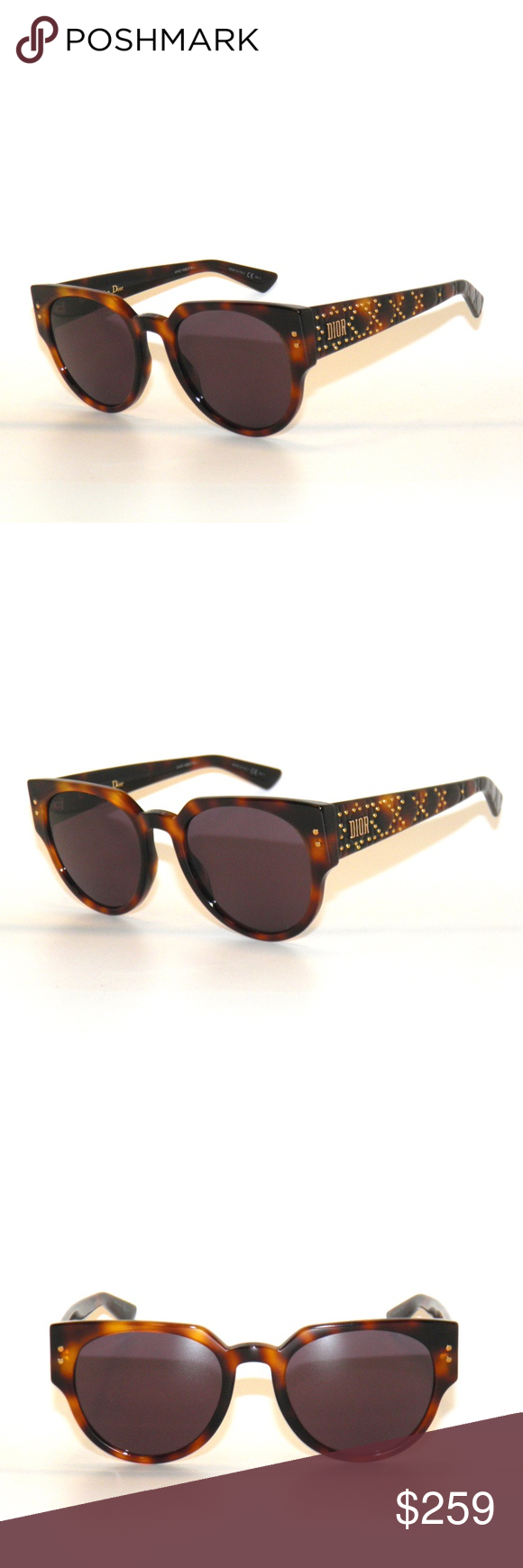 e7833ba1fbbe8 Lady Dior Studs 3 Havana Brown 086UR Sunglasses Christian Dior Lady Dior  Studs 3 Havana Brown 086UR Sunglasses Brand new and authentic with original  case . ...