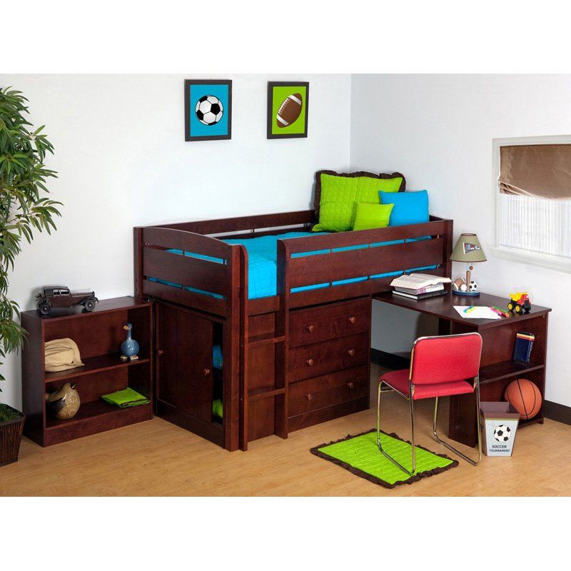 Canwood Whistler Junior Loft Bed Collection Bunk Beds At Hayneedle