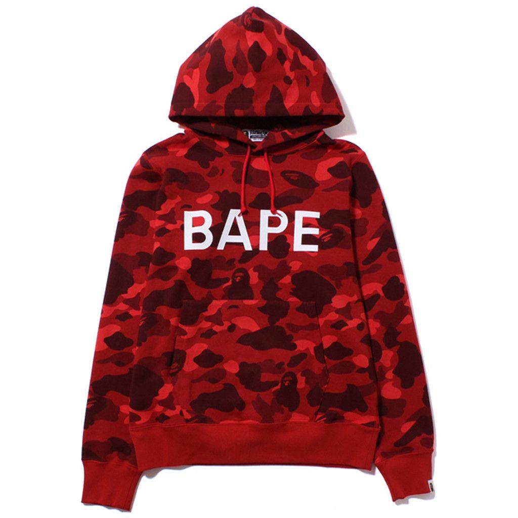24eb389b Bape hoodie | clothes in 2019 | Hoodies, Red bape hoodie, Bape sweater