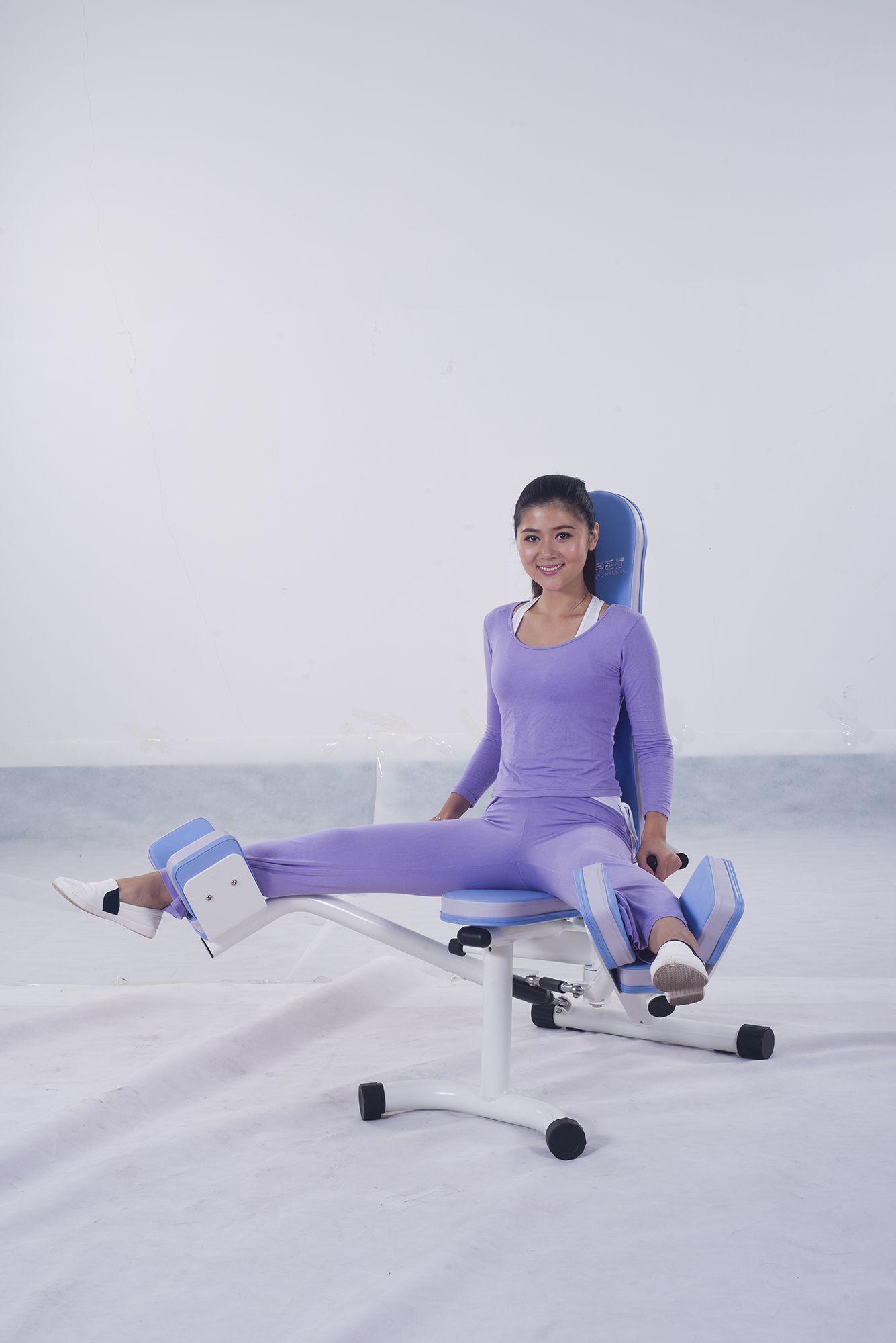 Abductor exercise equipment rehabilitation