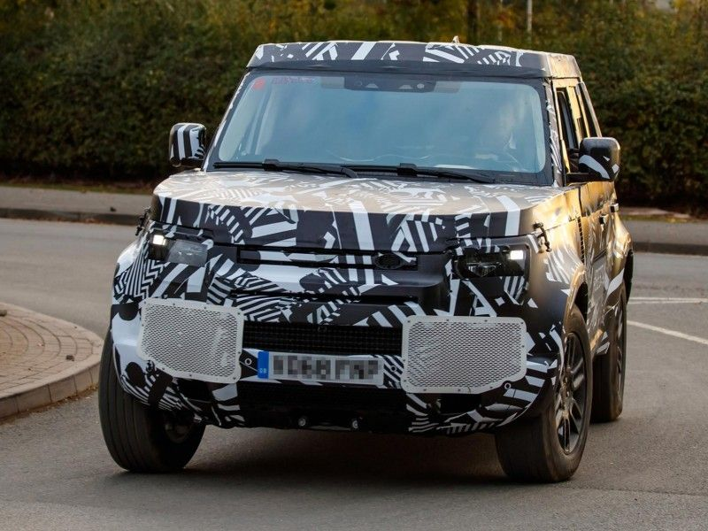 Two New Land Rover Vehicles Designated For 2020 Spotted Land Rover Defender Land Rover New Land Rover Defender