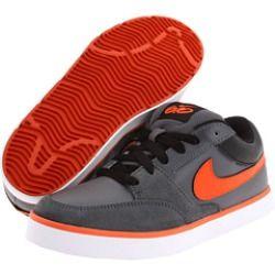 05845f08e Nike 6.0 Kids - Avid Jr 6.0 (Toddler Youth) (Dark Grey Black Team Orange) -  Footwear