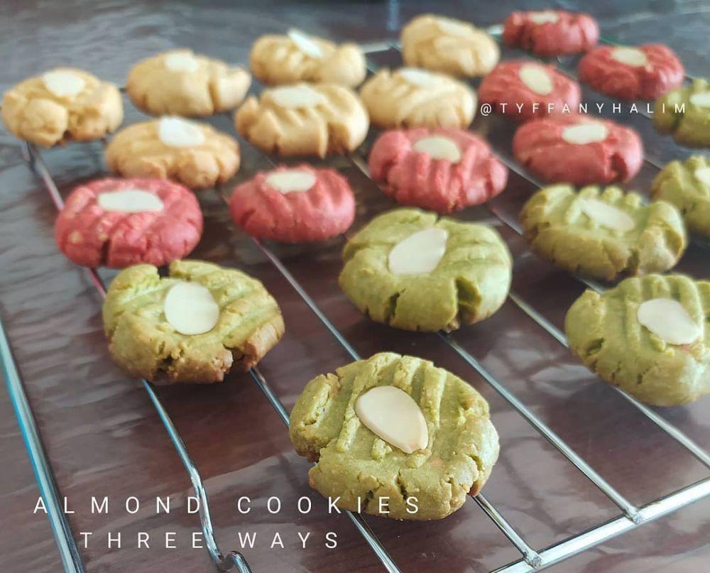 Resep Cookies Almond C 2020 Brilio Net Makanan Makanan Dan Minuman Cemilan