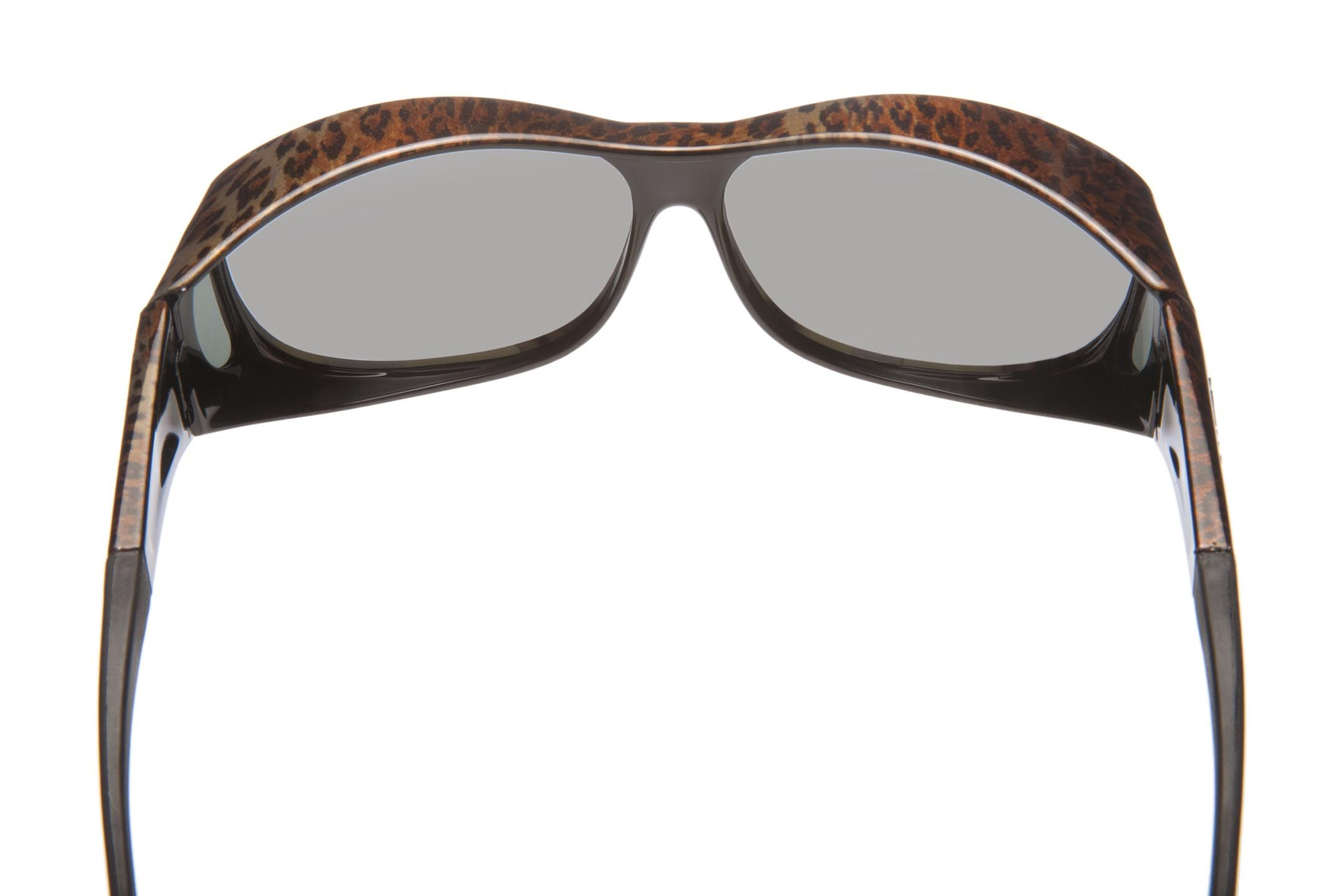 e311e6bd89 HAVEN Fits Over sunglasses for eyeglass wearers with animal print. QVC.com