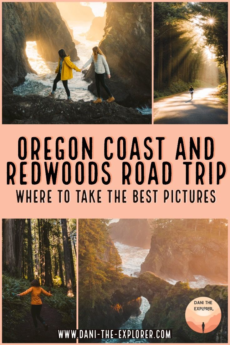 Things To Do On The Oregon Coast & Northern California for 48hrs #westcoastroadtrip